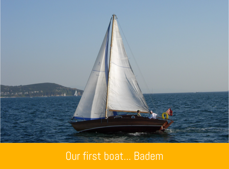 our first boat Badem